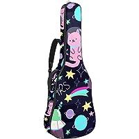 Bolsa para Guitarra Gato espacial de dibujos animados Funda para Guitarra Acústica Clásica y Eléctrica 40 41 pollici 10…