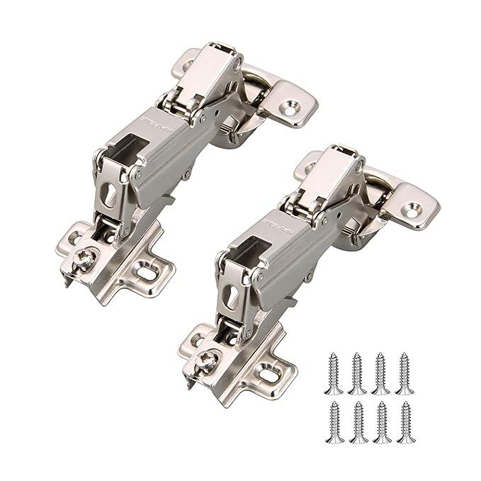 HAFELE 165 Grad Eckanschlag Topfscharnier Standardscharniere mit Schließautomatik Automatikscharnier Scharniere Küchenschrank