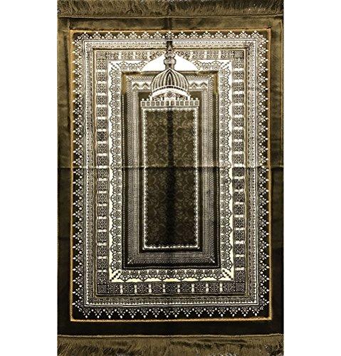 Prayer Rug Big: Large Wide Plush Velvet BEST