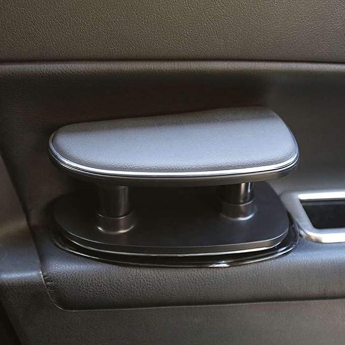 Schwarz Free Size Universal Auto Armlehne Links Ellenbogenst/ütze ergonomisch verstellbare H/öhe Linke Seite Auflage Polster f/ür Fahrert/ür