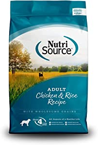 Nutrisource Adult Chicken & Rice Dog Food 5Lb