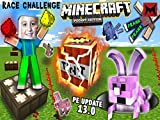 The TNT Trapped Rabbit Redstone Glow Dust Race Challenge
