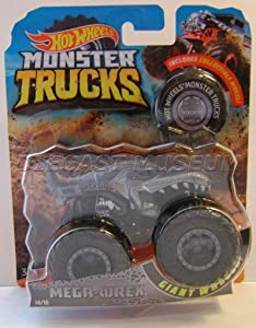 MEGA WREX T-REX Dinosaur W/ Collectible Wheel Monster Trucks DIECAST 2018 (Monster JAM Truck)