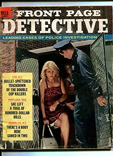 FRONT PAGE DETECTIVE-1963-DECEMBER-GOOD GIRL ART COVER - Detective Covers Magazine