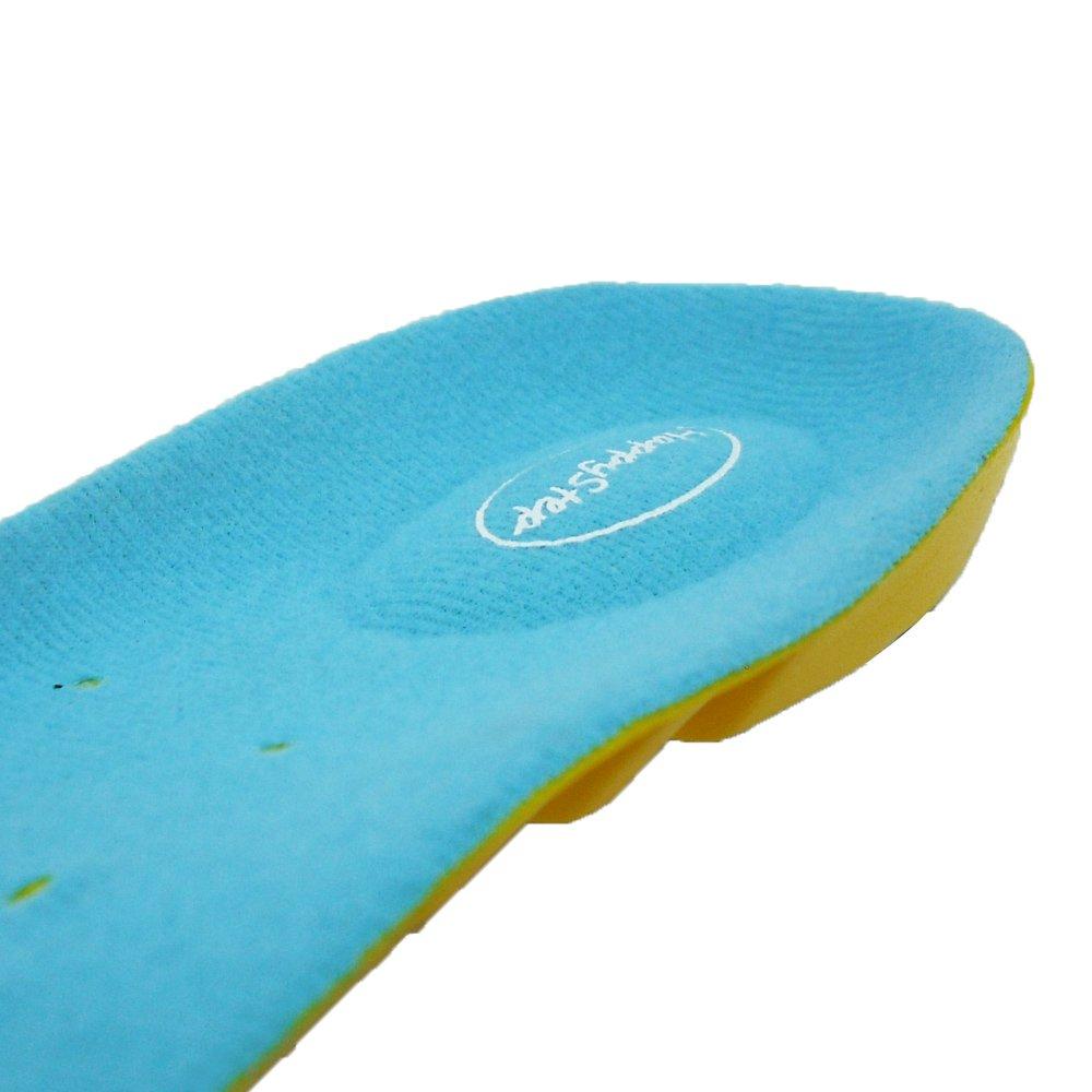 HappyStep/® Plantillas de gel con excepcional absorci/ón de impactos y amortiguaci/ón en el metatarso y el tal/ón al caminar o correr Talla M: 38-41 UE