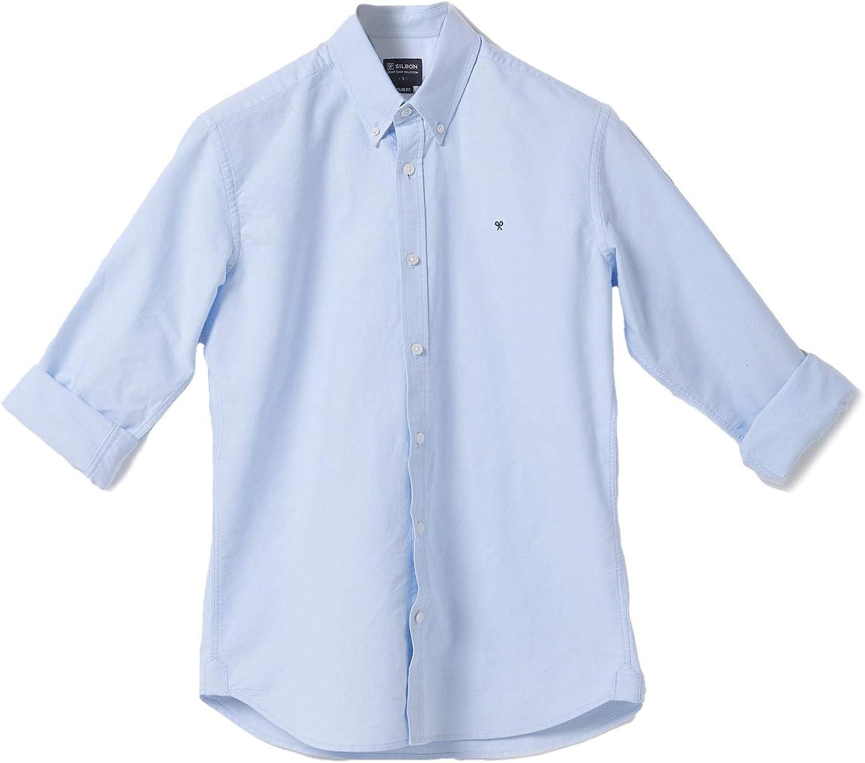 SILBON - Camisa Sport Oxford Celeste para Hombre: Amazon.es: Ropa y accesorios
