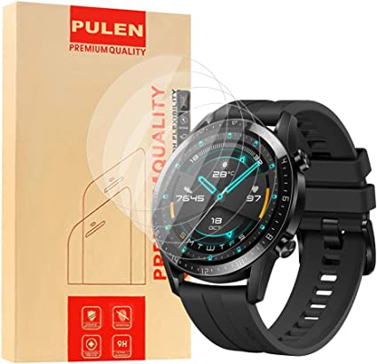 PULEN [ 4 Pack] Compatible con Huawei Watch GT 2 46 mm Protector ...