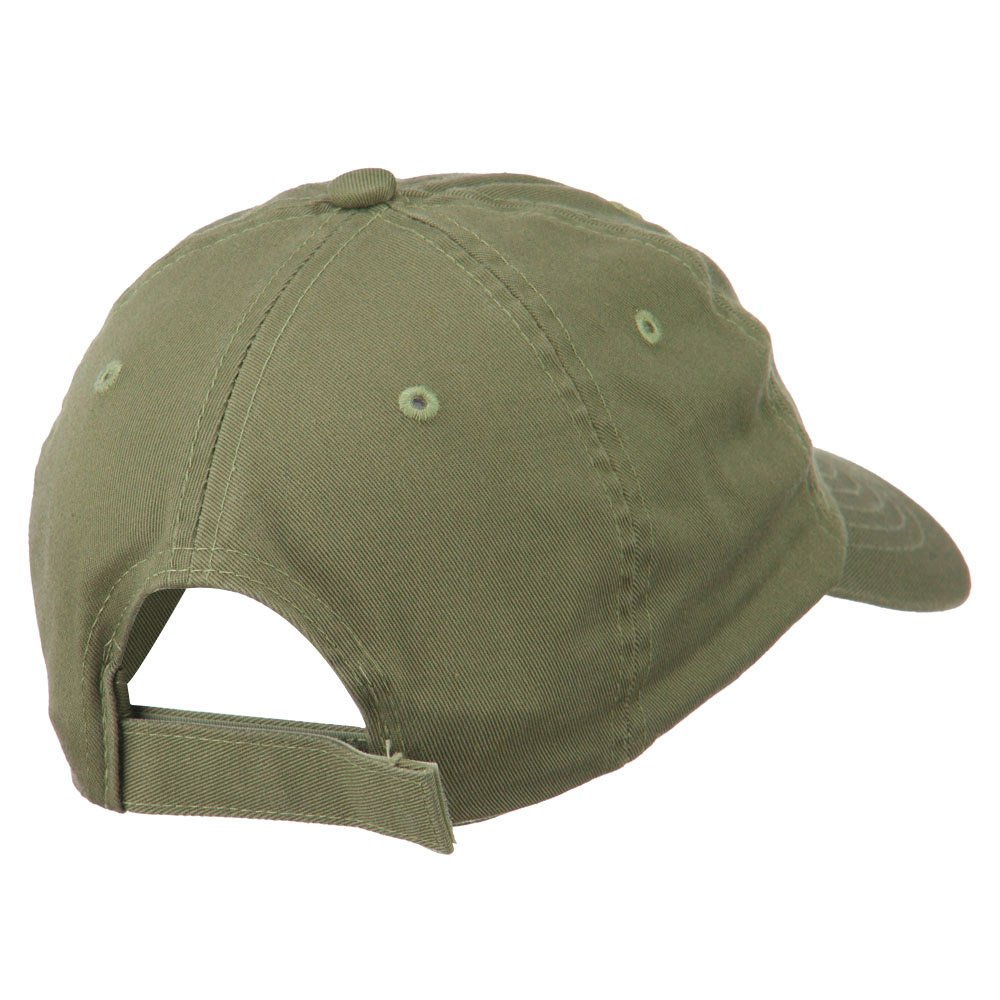 e4Hats.com Keep Calm Embroidered Low Profile Washed Cap
