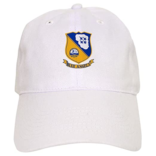 507e1b1537c CafePress - U.S. Navy Blue Angels Crest - Baseball Cap with Adjustable  Closure