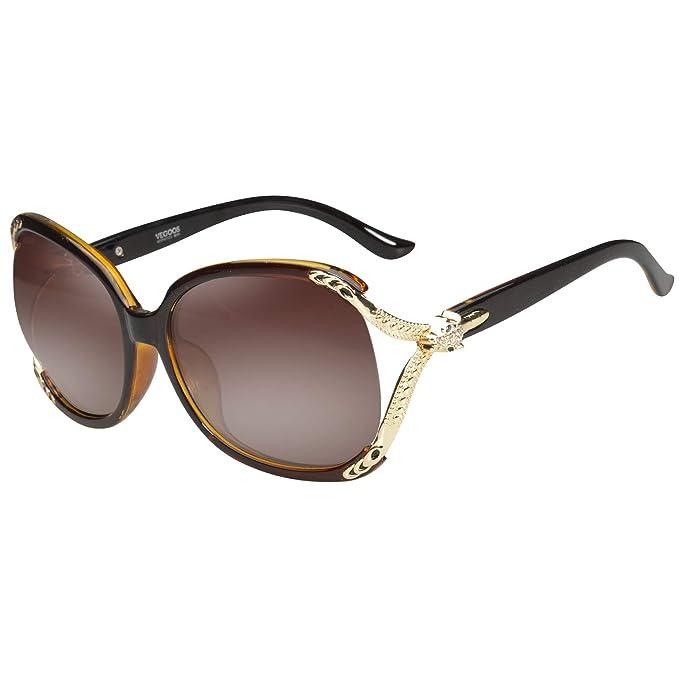 vegoos Gafas de sol de mujer diseñador UV400 polarizada ...
