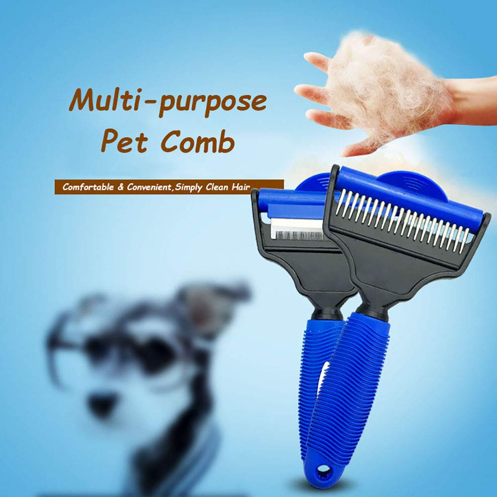 LONG-C Pet Comb Dog Hair Remover Brush Grooming Tools Comb Hair,M
