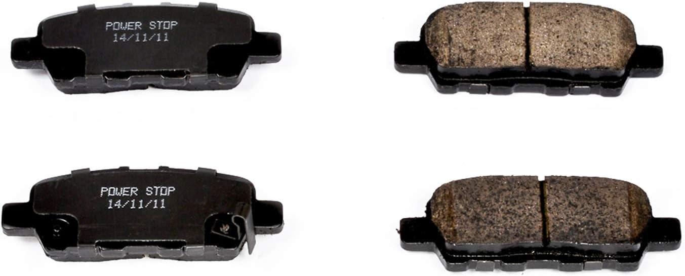 Powerstop Brake Pad Sets 2-Wheel Set Rear Driver /& Passenger Side New 16-1393