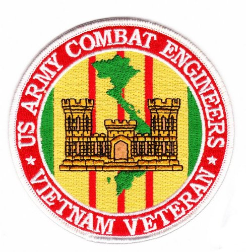 Army Combat Engineer Vietnam Veteran Patch