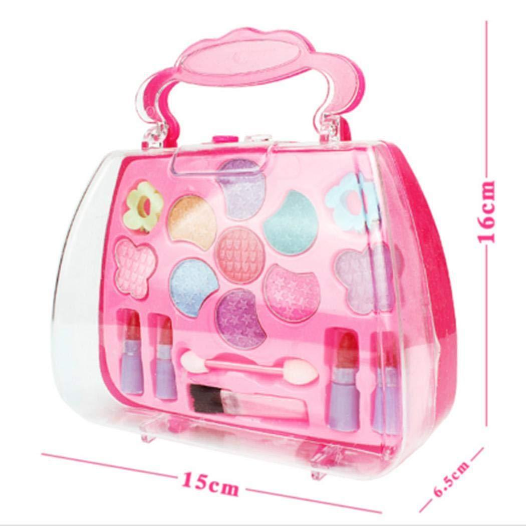 Erholi Girls Make-Up Box Princess Traveling Cosmetic Pretend Play Toy Set for Kids Gift Makeup by erholi (Image #5)