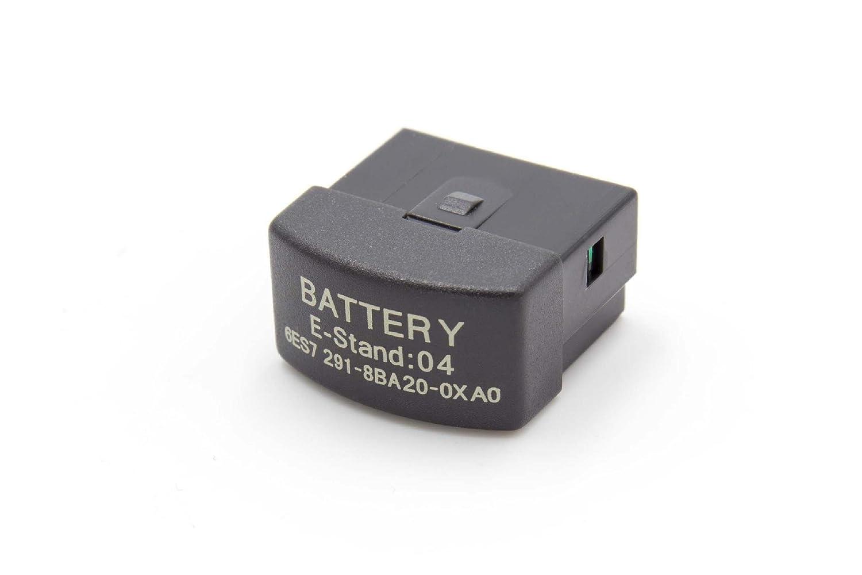 vhbw Batería Li-Ion 1800mAh (3V) para la Unidad de Control Siemens ...