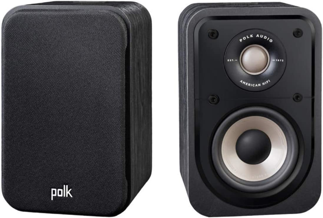 Polk Audio Signature S10e Surround Lautsprecher Hifi Lautsprecher Für Musik Und Heimkino Sound Uni Pole Lautsprecher 20 100 Watt 8 Ohm High Res 72hz 40khz Paar Audio Hifi