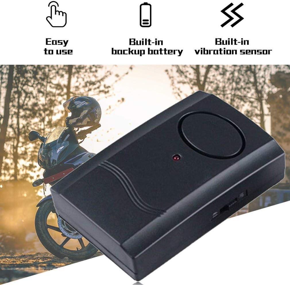 Alarme Pour Moto Moto Scooter Anti-Vol Syst/ème De S/écurit/é Dalarme T/él/écommande Sans Fil Universelle 120db