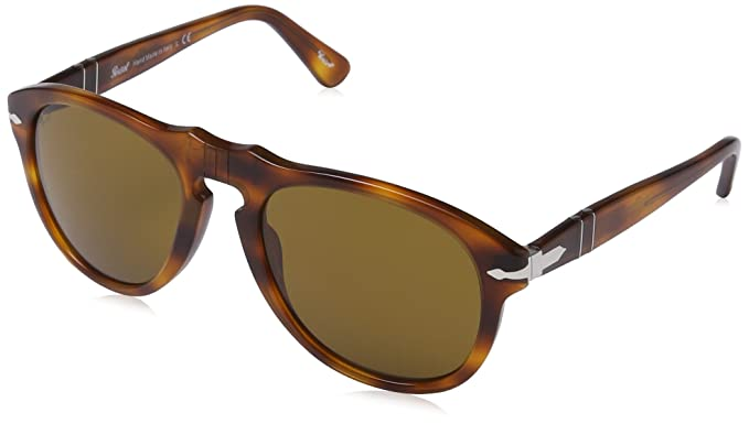 415c105f24 Image Unavailable. Image not available for. Colour  Persol Men s PO 0649  0649 Aviator Sunglasses ...