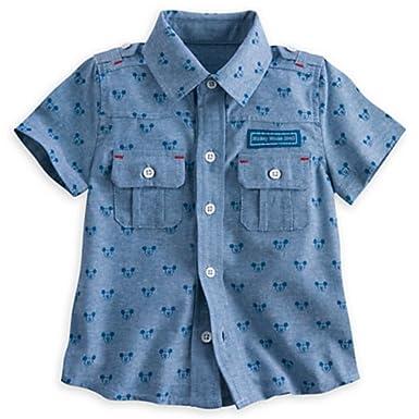 5547bea9e0a7 Mickey mouse button down shirt