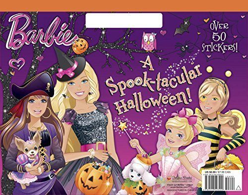 A Spook-tacular Halloween! (Barbie) (Big Coloring Book) by Mary Man-Kong (2015-07-28) -