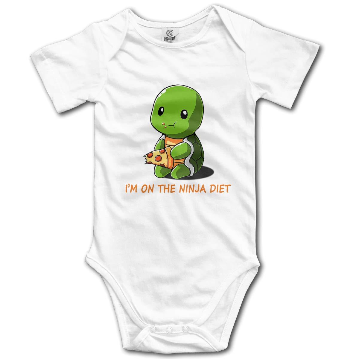 Tortugas Im On The Ninja Diet Newborn Girl Boys Kids Baby ...
