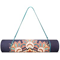 Trideer Yoga Mat Design, Premium Print 1/4-Inch 6mm Non Slip Exercise & Fitness Mat, Lightweight Anti-Tear All-Purpose Floor Pilates Mat,with Carrying Strap for Yoga Class and Outdoor