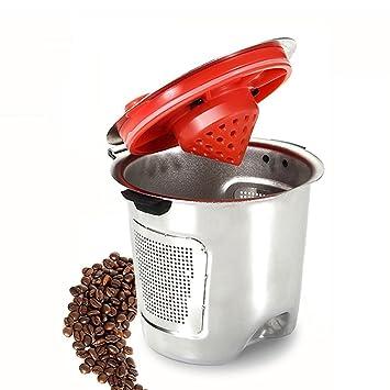Classic de acero inoxidable Filtro de café reutilizable K vasos con base independiente sin BPA para Keurig 1.0 y 2.0 sin papel por bellagion: Amazon.es: ...