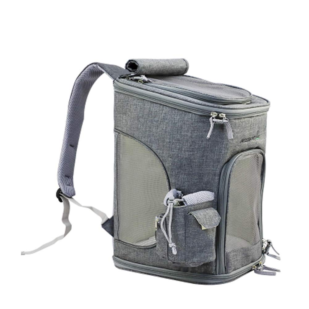 Outdoor Dog Carrier Pet Carriers Pet Bag Backpack Cat Bag Travel,Easily Carries Pet BagU