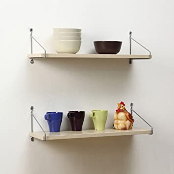 WALL RACKS Wandregale / Modern Minimalist Massivholz Wand Schlafzimmer Wohnzimmer  Regale. ( Farbe : 4