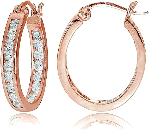 "1 3//4/"" Anti-Tarnish Diamond Cut Round Hoop Earrings Real 925 Sterling Silver"