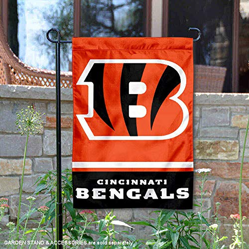 - Cincinnati Bengals Double Sided Garden Flag