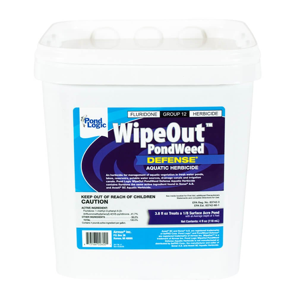 Pond Logic Wipeout, 4 Ounce