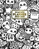 18 Month Planner 2020-2021: Cute Kawaii