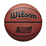 Wilson Sporting Goods March Madness Game Ball, Orange Microfiber