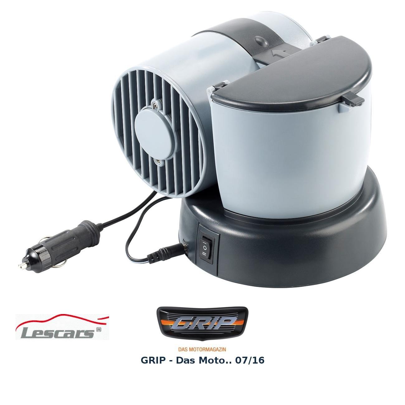 Mobiler Mini-Luftkü hler 12 V/230 V fü r Auto/Camping/Home und mehr Lescars