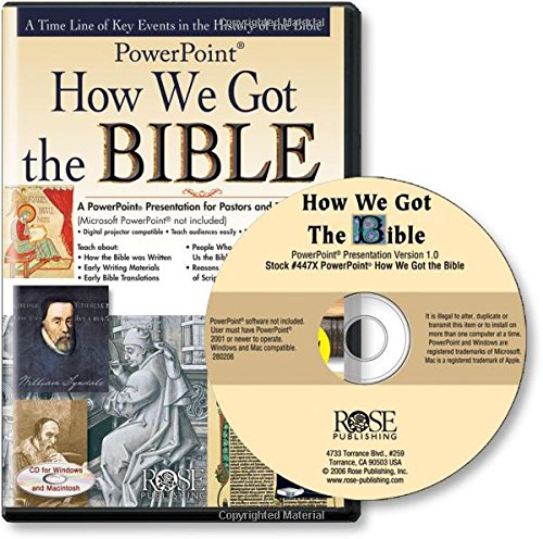 How We Got the Bible: PowerPoint Presentation
