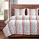 PoloGear Southwest Design 3-Piece Comforter Set 3 Piece Queen