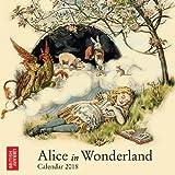 Alice in Wonderland 2018 Calendar