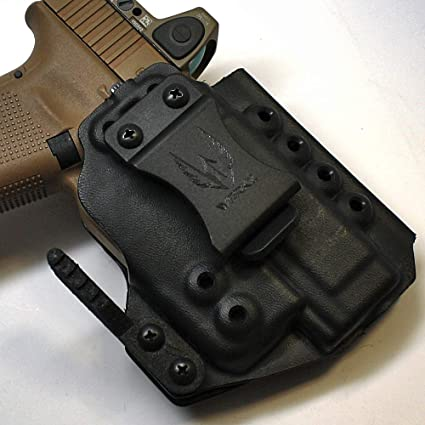 Werkz M6 Modular Holster for Glock 19 / 19x / 23/32 / 45 Gen 3/4/5 with  Streamlight TLR-6 for Glock Railed Pistols, Ambidextrous, Right Hand Claw,