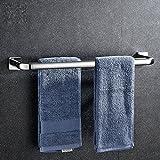 Lqchl Twin Bar 304 Stainless Steel Bathroom Towel Bar