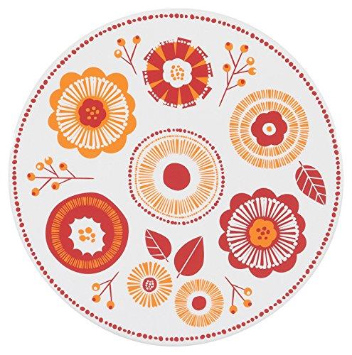 - Now Designs Ceramic Trivet, Blomma