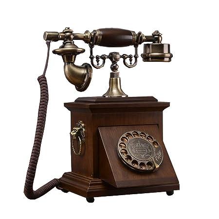 BAIF Health UK Teléfono- Teléfono Madera Maciza Antigua Rotary ...