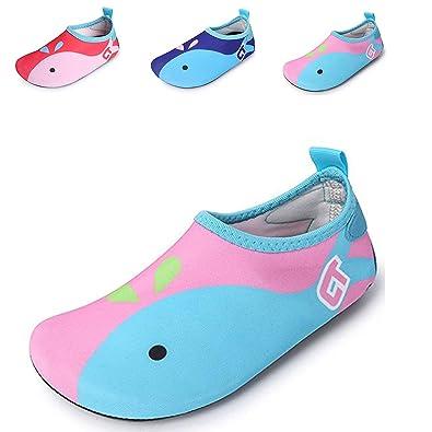 5542b49d3b52 JACKSHIBO Kids Water Shoes