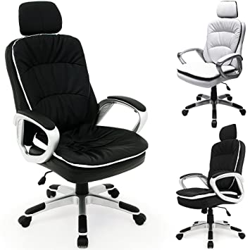 Office Desk Chair PREMIUM Executive High Back Recliner Swivel