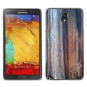 Etui Housse Coque de Protection Cover Rigide pour//M00151798 Textura Detalle de madera del grano de//Samsung Galaxy Note 3 III N9000 N9002 N9005