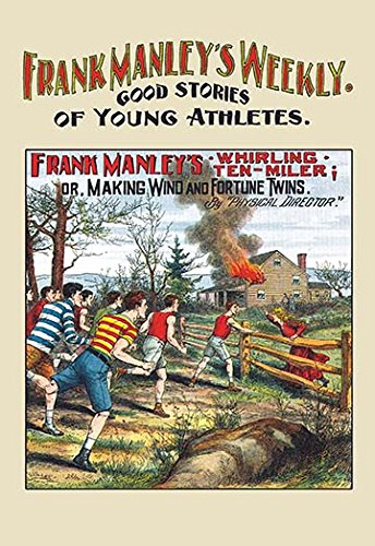 Frank Manley Weekly: Frank Manley's Whirling Ten Miler Fine Art Canvas Print (20