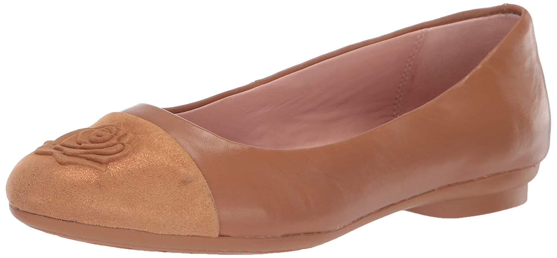 Doe Taryn pink Womens Annabella Ballet Flat