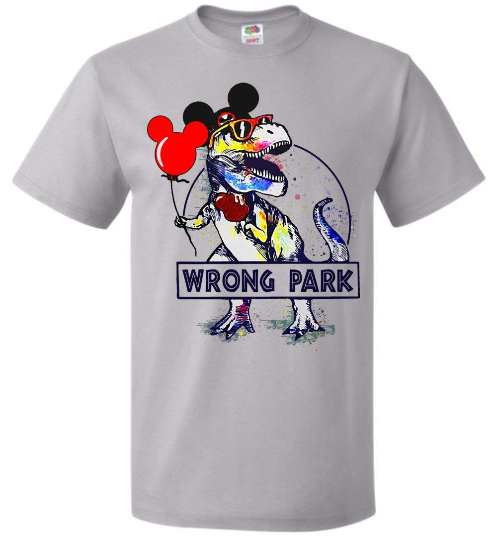 Wrong Park Dinosaurus T Shirt Funny Gifts For Girls 3086