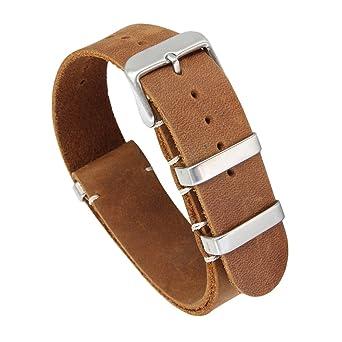 einzigartiges Design unschlagbarer Preis Markenqualität Autulet Leder Uhrenarmband Herren