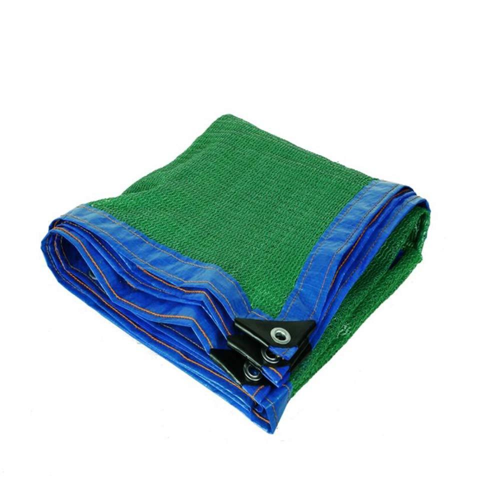 XIAOLIN グロメット、庭の花植物カバーのための日焼け止めシェード布でシェードネッティング95%ブラックテーピングエッジ (サイズ さいず : 8X15m) 8X15m  B07Q715GTF